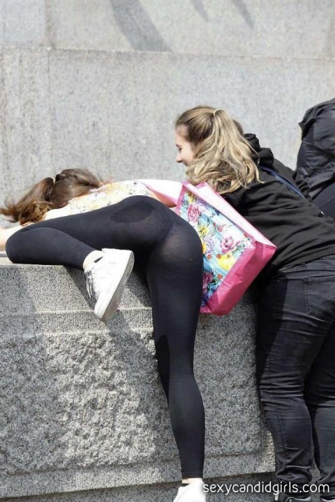 Big Ass Teens Yoga Pants