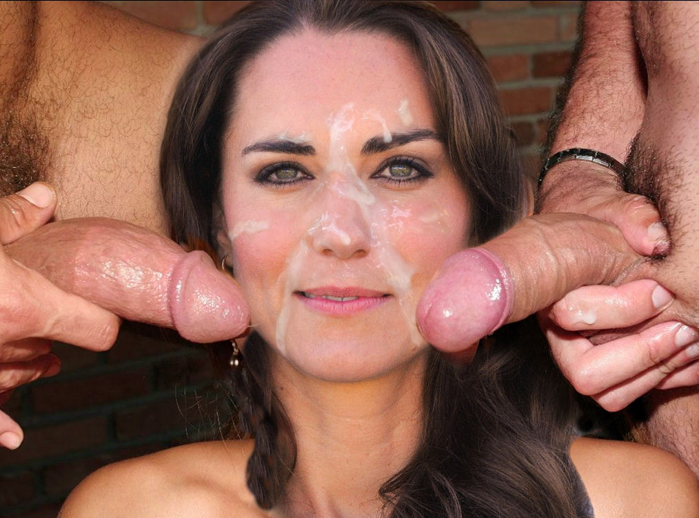 Kate Middleton Double Cock Finally