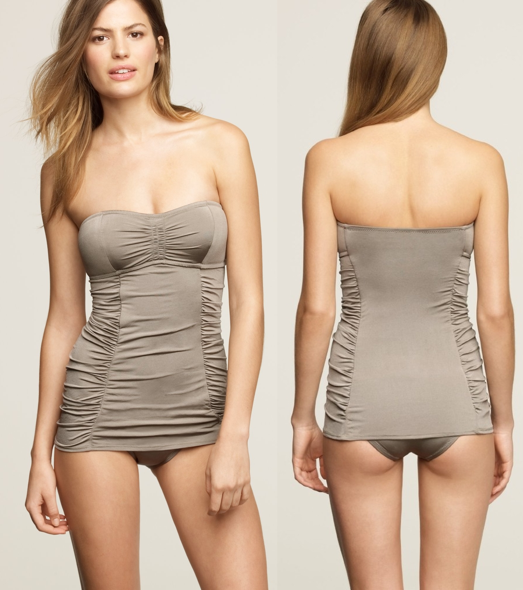 59 - Donkey Brown tankini - front back.jpg